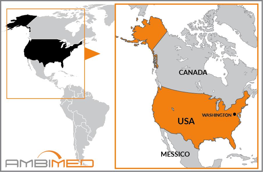 America Occidentale Cartina.Scheda Stati Uniti D America Ambimed Group