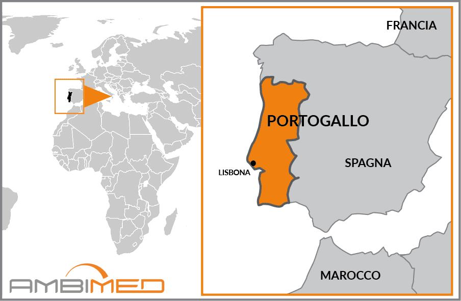 Cartina Dettagliata Del Portogallo.Scheda Portogallo Ambimed Group