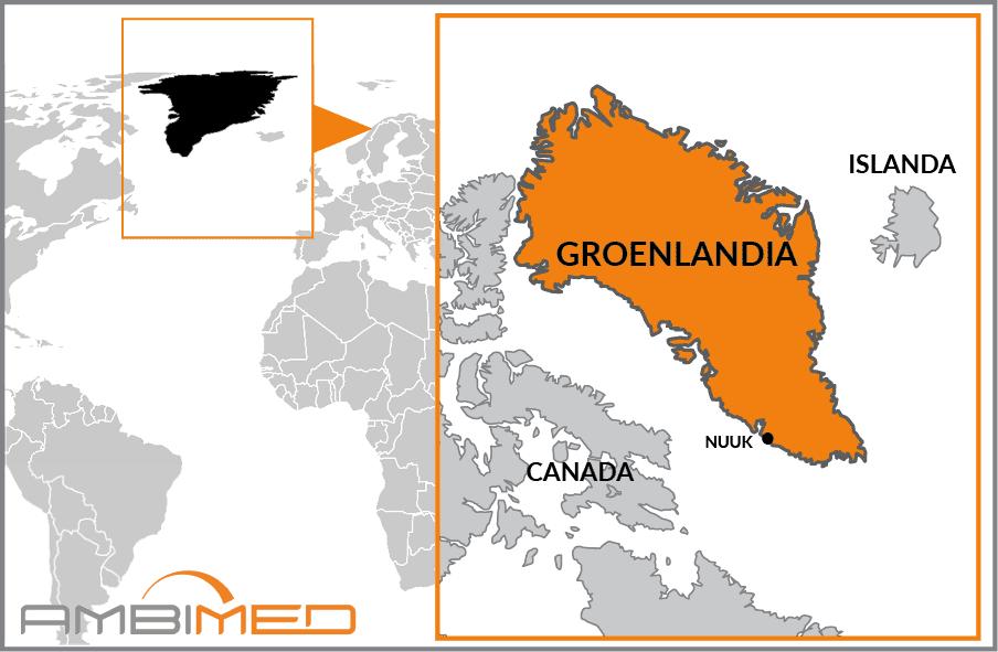 Cartina Geografica Della Groenlandia.Scheda Groenlandia Ambimed Group