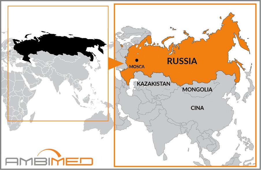 Cartina Geografica Russia Ucraina.Scheda Russia Ambimed Group