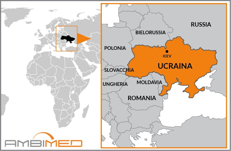 Cartina Geografica Russia Ucraina.Scheda Ucraina Ambimed Group