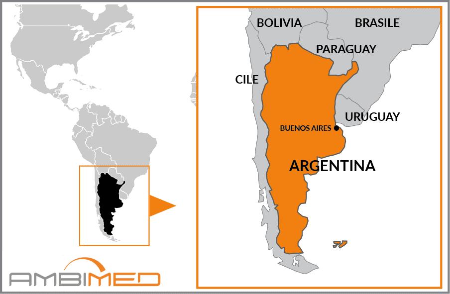 Patagonia Cartina Geografica.Scheda Argentina Ambimed Group