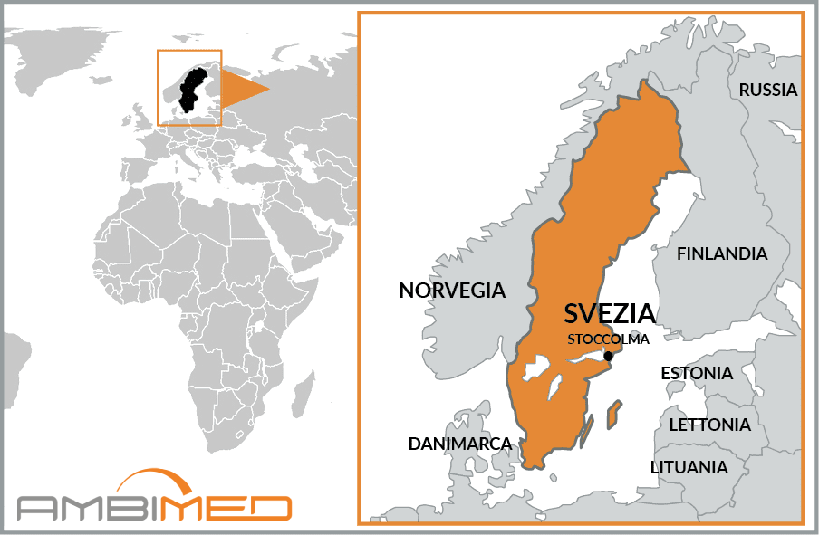 Cartina Della Svezia.Scheda Svezia Ambimed Group