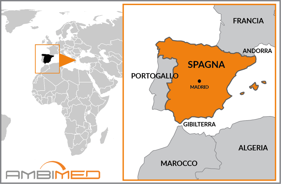 Spagna E Isole Canarie Cartina Geografica.6tqertq5mvpbvm