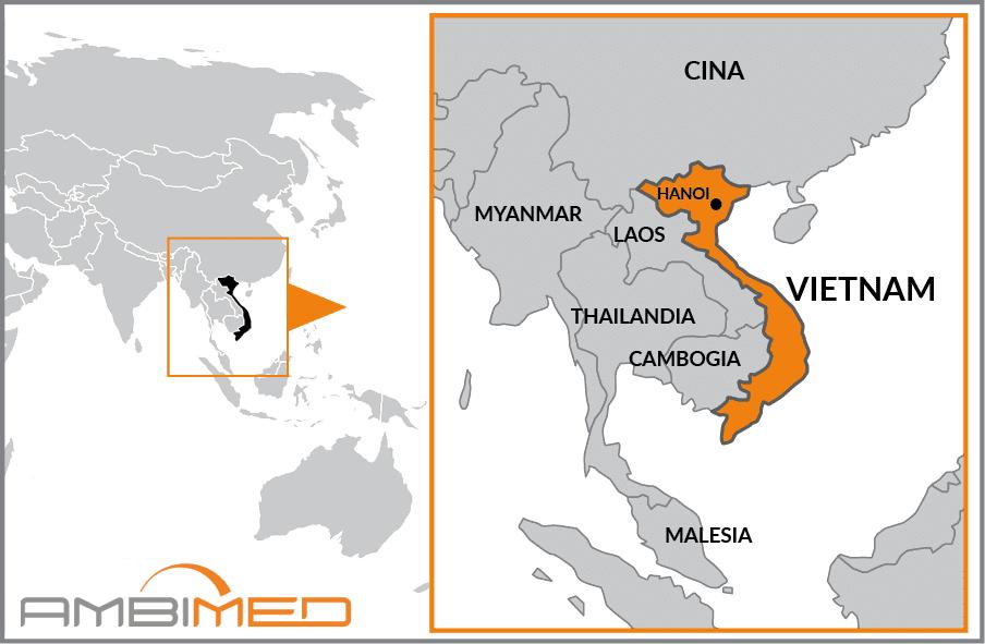 Tra Vietnam E Thailandia Cartina Geografica.Scheda Vietnam Ambimed Group
