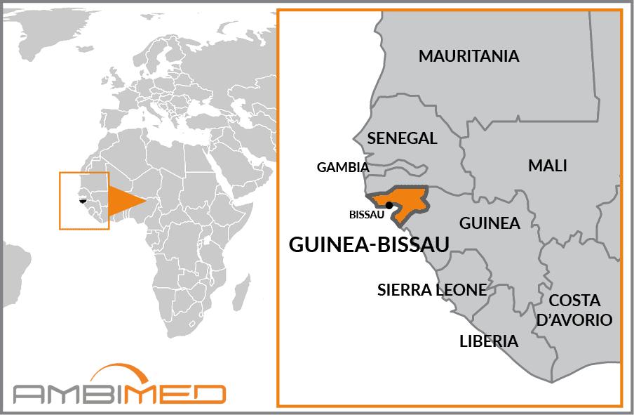 Guinea Cartina Geografica.Scheda Guinea Bissau Ambimed Group