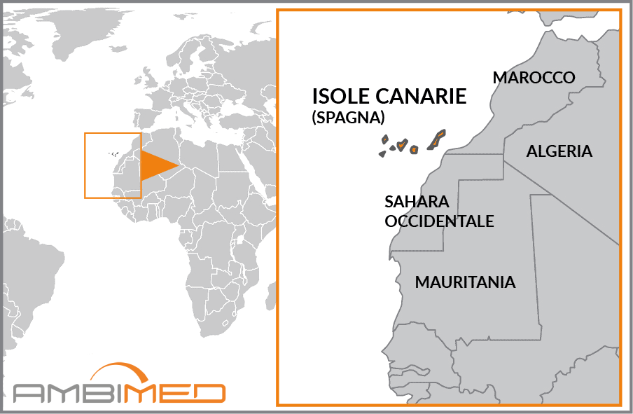 Spagna E Isole Canarie Cartina Geografica.Scheda Isole Canarie Ambimed Group