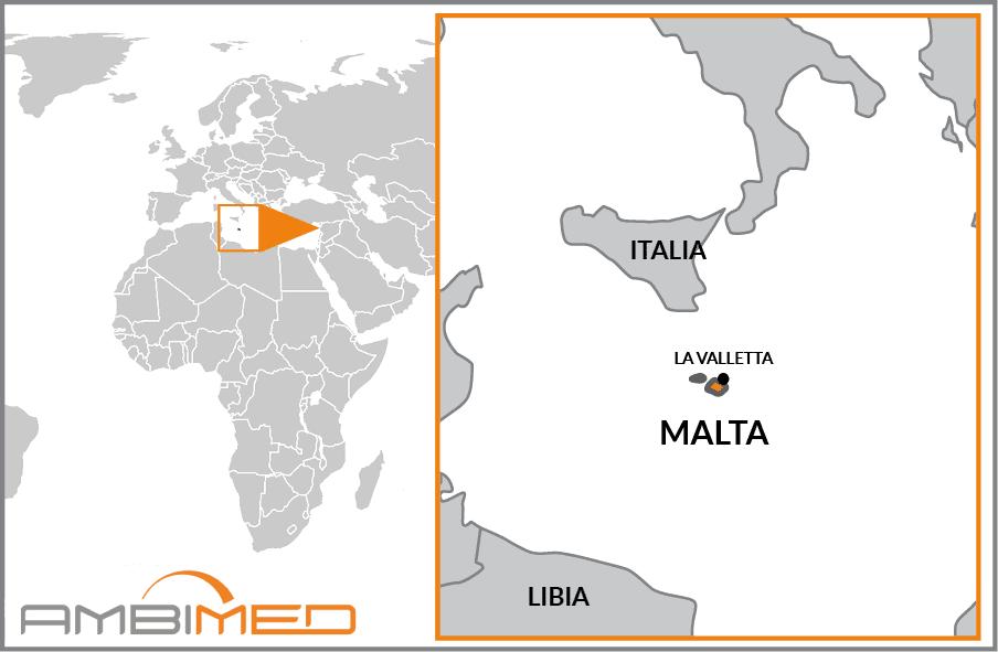 Isola Di Malta Cartina Geografica.Scheda Malta Ambimed Group
