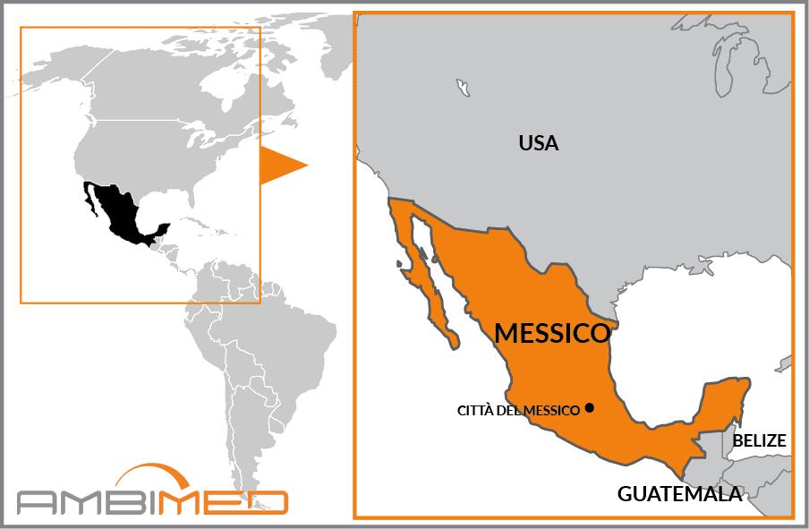 Cartina Geografica Politica Del Messico.Cartina America Del Sud Messico