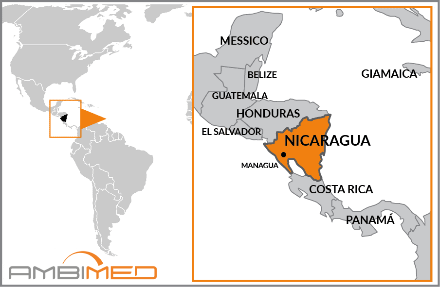 Cartina Geografica Nicaragua.Scheda Nicaragua Ambimed Group
